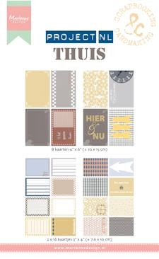 Marianne Design - Project NL - Cards set - Thuis