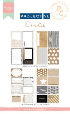 Marianne Design - Project NL - Cards set - Emoties