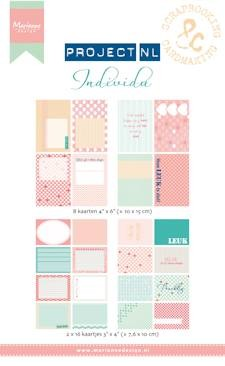 Marianne Design - Project NL - Cards set - Individu