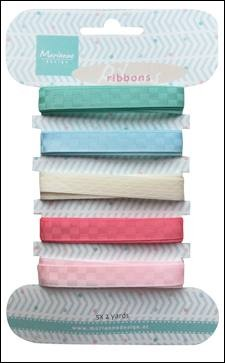 Marianne Design - Decorative Ribbons Sweet Colours