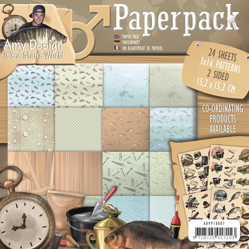 Paperpack -  Amy Design - Its a Mans World
