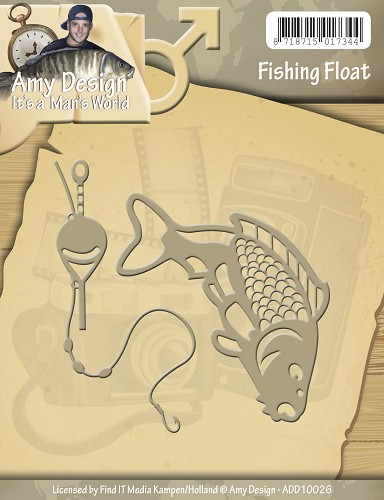 Stansmal Amy Design - Its a Mans World - Fishing Float