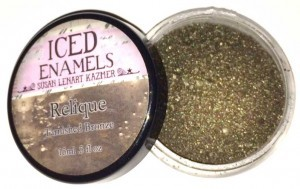 Ice Resin - ICED Enamels - Tarnished Bronze