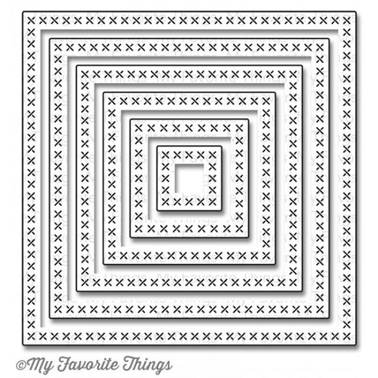 Stansmal My Favorite Things - Cross Stitch Square STAX