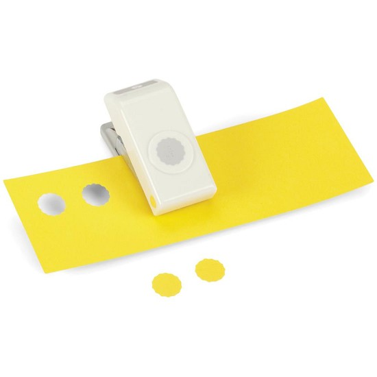 EK Success - Nesting Paper Punch - Scalloped Circle .5""