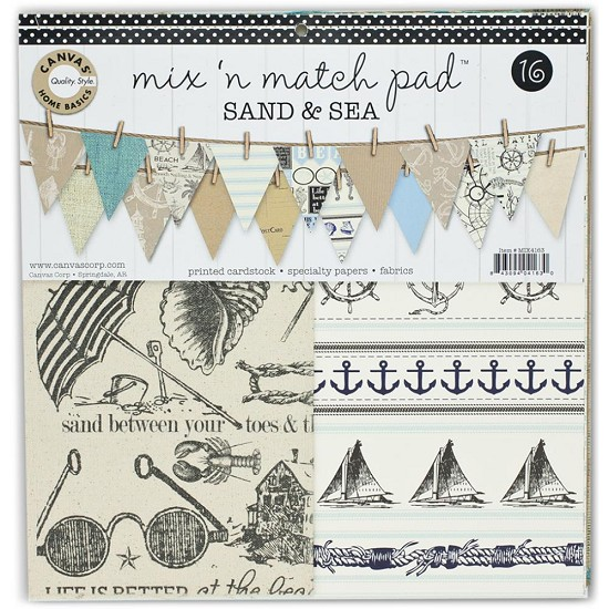 Canvas Corp - Mix & Match Pad - Sand & Sea
