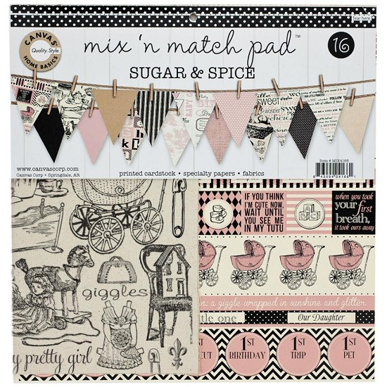 Canvas Corp - Mix & Match Pad - Sugar & Spice