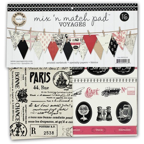 Canvas Corp - Mix & Match Pad - Bon Voyage