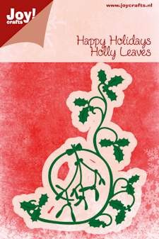 Noor! Design - Cutting & Embossingstencil - Happy Holidays - Swirl