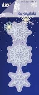 Noor! Design - Cutting & Embossingstencil - Winter Wishes - IJskristallen