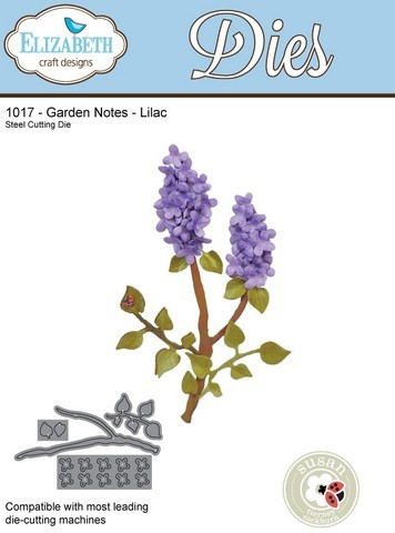 Stansmal Elizabeth Craft Design - Country Scapes - Lilac 1017