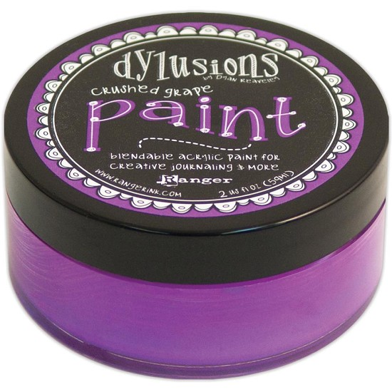 Dyan Reaveley`s - Dylusions Paint - Crushed Grape
