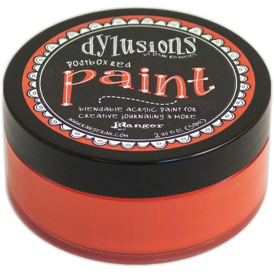 Dyan Reaveley`s - Dylusions Paint - Postbox Red