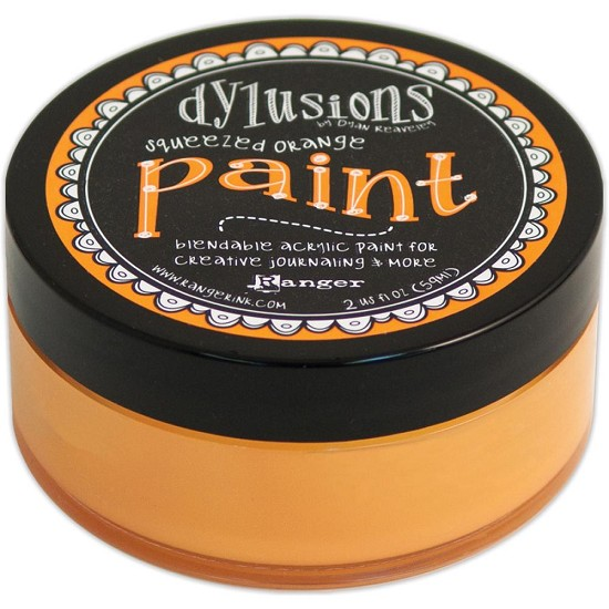 Dyan Reaveley`s - Dylusions Paint - Squeezed Orange
