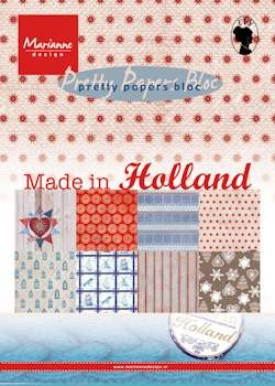 Marianne Design - Pretty Papers Bloc - Made in Holland