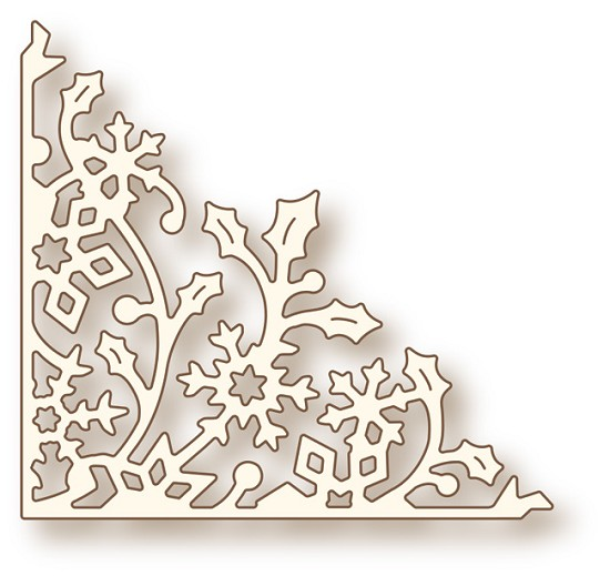 Stansmal - Wild Rose Studio - Specialty die - Holly Vine Corner