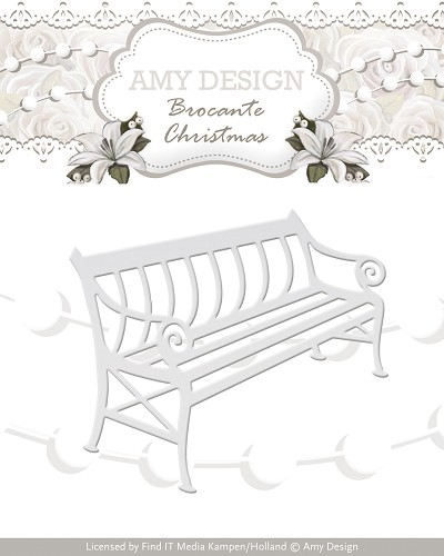 Stansmal - Amy Design - Brocante Christmas - Bench