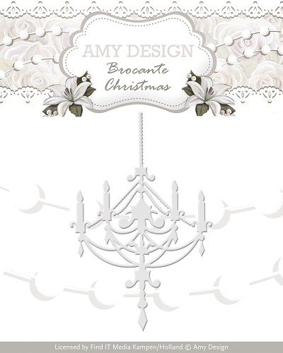 Stansmal - Amy Design - Brocante Christmas - Chandelier