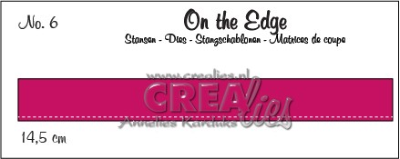 Stansmal - Crealies - Crea-nest-Lies - On the Edge nr 6