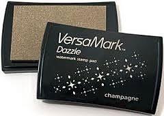 Versamark - Inktkussen Dazzle - Champagne