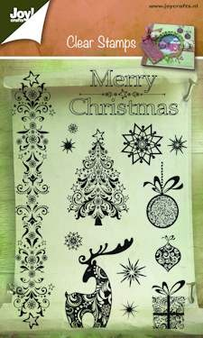 Joy! Crafts - Clear stamp - Merry Christmas