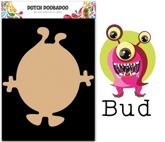 Dutch Doobadoo - Dutch MDF Art - Wackey Brothers Bud