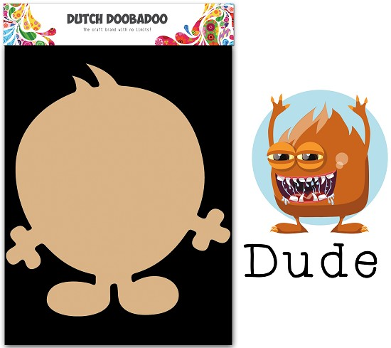 Dutch Doobadoo - Dutch MDF Art - Wackey Brothers Dude