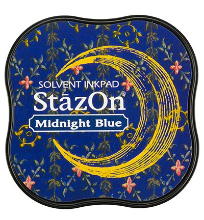 Stempelinkt - StazOn Midi - Midnight Blue