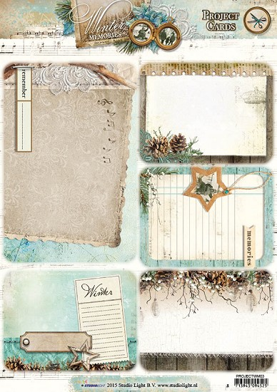 Pocket Letters Studio Light - Winter Memories - PROJECTWM03