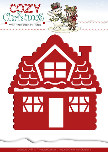 Stansmal Yvonne Creations - Cozy Christmas - Gingerbread House