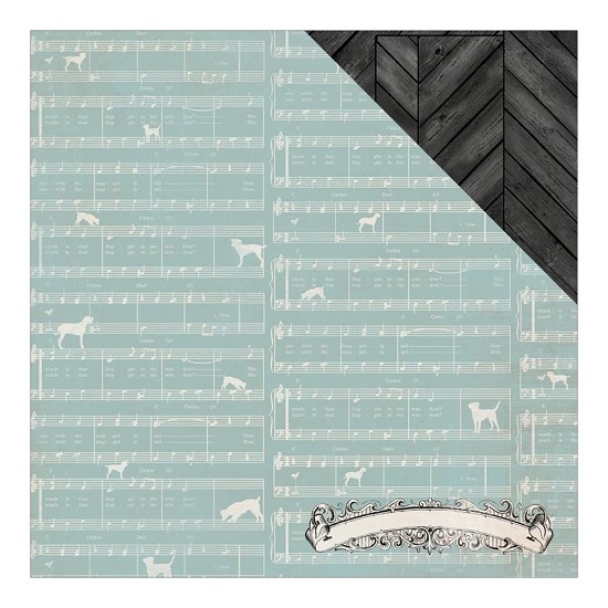 Scrappapier Authentique - Devoted - Harmonize Puppy Sheet
