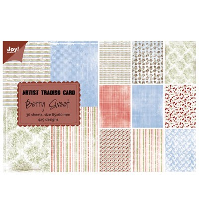 Noor! Design - Paper bloc - ATC Berry Sweet