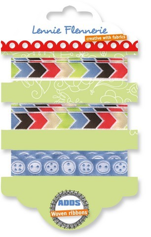 Lennie Flennerie - Adds - Woven Ribbons set Streetstuff