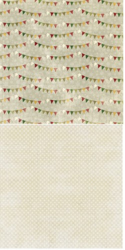Reprint - Scrappapier - Merry & Bright - Pennants