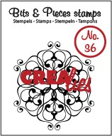 Clearstamp Crealies - Bits & Pieces - No 36 Doodle circle