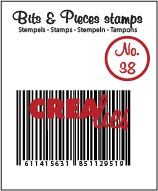 Clearstamp Crealies - Bits & Pieces - No 38 Barcode