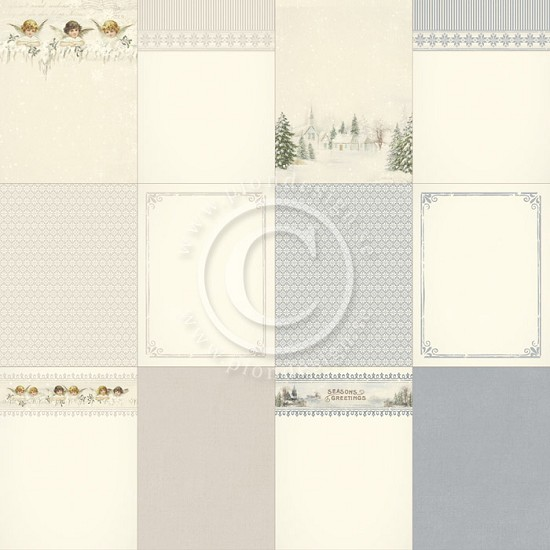 Scrappapier Pion Design - Glistening Season - Memory Notes - 1