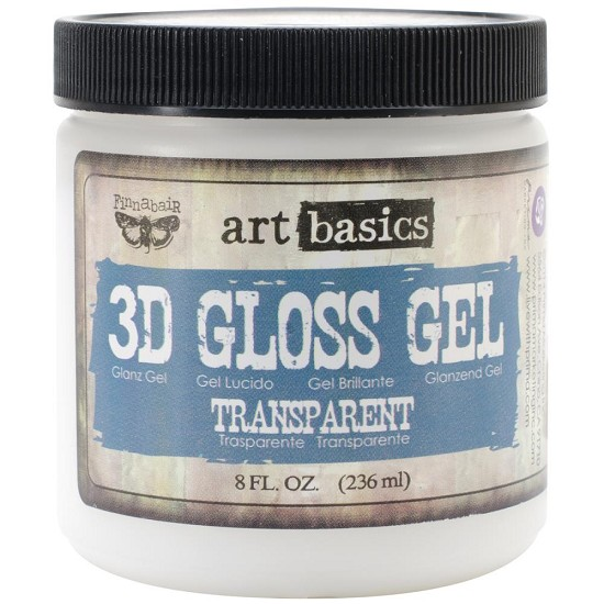 Finnabair - Art Basics - 3D Gloss Gel - 8.5oz