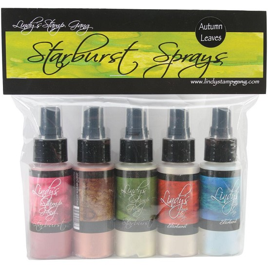 Lindys Stamp Gang - Starburst Spray - Set Autumn Leaves