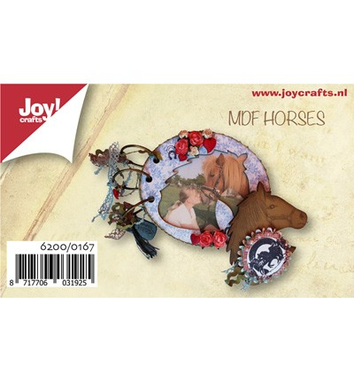 Joy! Crafts - MDF mini album Horses