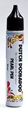 Dutch Doobadoo - Dutch Pearl Pen - Silver - 28ml