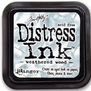 Distress inkt - Weathered wood