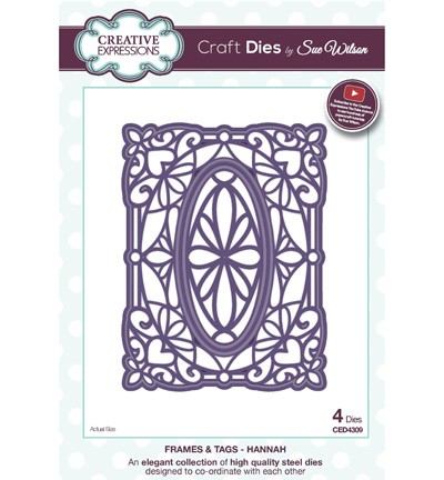 Stansmal Creative Expressions - Craft Dies - Hannah
