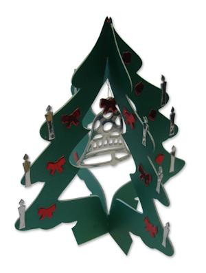 Presscut / Crafts too - Die Cutting stencil - Swing Tree