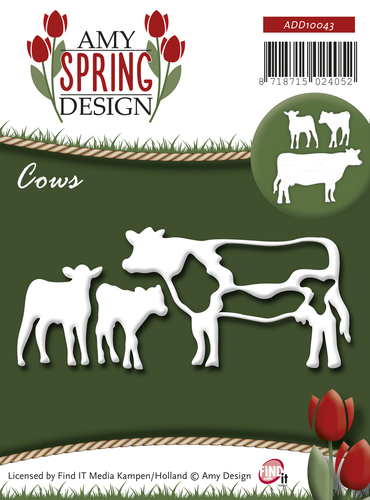 Stansmal - Amy Design - Spring - Cows