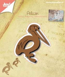 Joy! Crafts - Cutting & Embossing stencil - Pelikaan