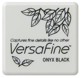 Stempelinkt Versafine - Mini - Onyx Black