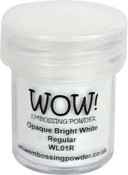 WOW Embossingpoeder - Bright White Regular