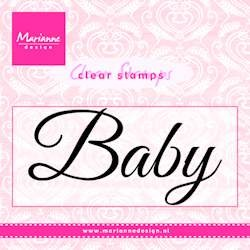Clearstamp Marianne Design - Baby