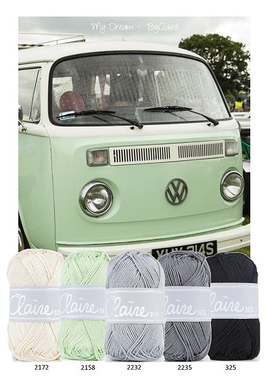 Kleurenpallet byClaire - Color Yourlife - VW bus